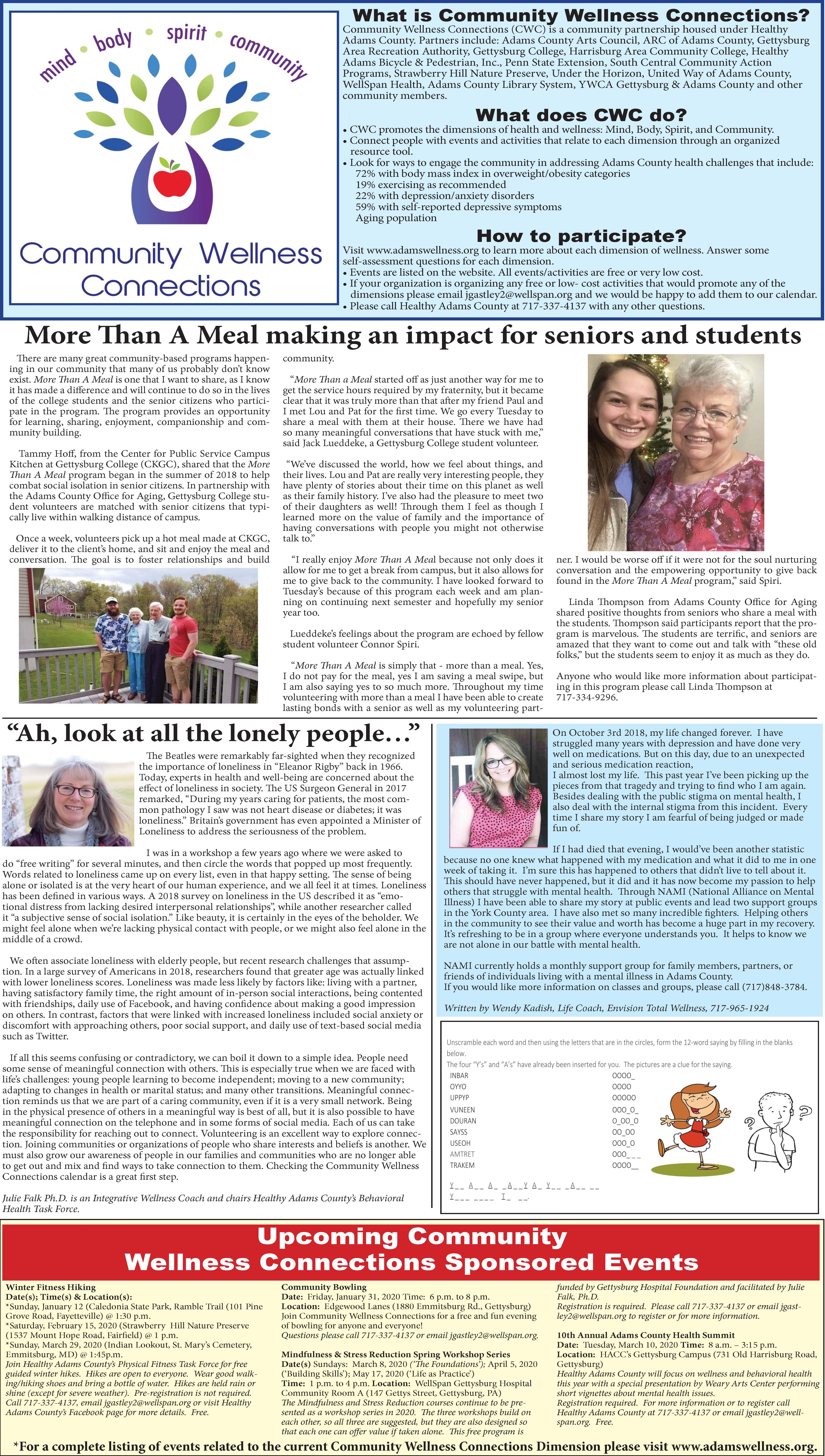 January 2020 Page